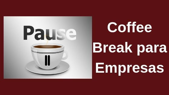 coffee break para empresas