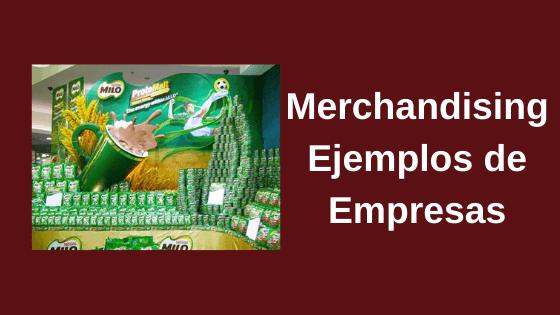 merchandising ejemplos