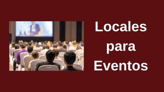 locales para eventos